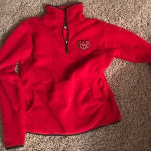 Washington capitals fleece hoodie